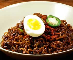resep masakan korea selatan jajangmyeon