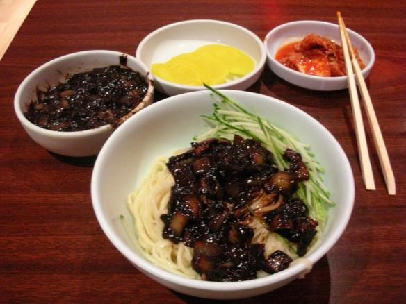 resep masakan jajngmyeon korea