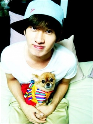 Super Junior Eunhyuk's Dog