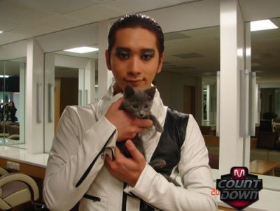 2PM Chansung's Cat