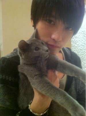 JYJ Jaejoong's Cat