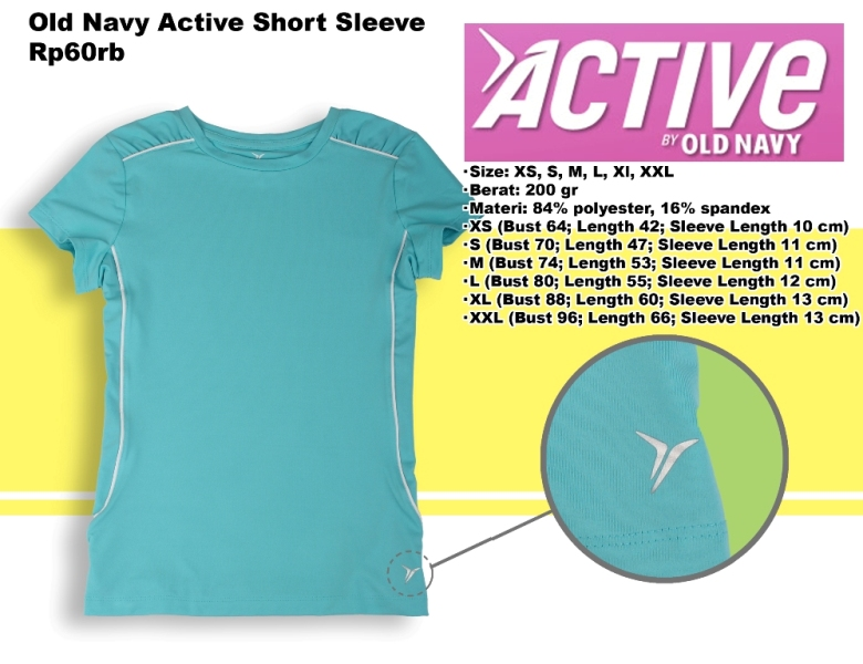 Old Navy Active Short Sleeve